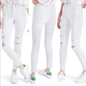 Madewell Jeans - Madewell high rise skinny crop jeans
